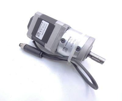 Nanotec ST4118L1804-KGRO Schrittmotor + Nanotec GPLL40-14 Getriebe -used- – Bild 1