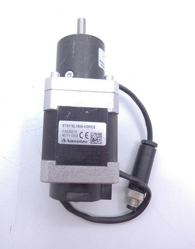 Nanotec ST4118L1804-KGRO2 Schrittmotor + Gysin GPL 032 1/4:1 Getriebe -used- – Bild 3