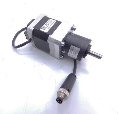 Nanotec ST4118L1804-KGRO2 Schrittmotor + Gysin GPL 032 1/4:1 Getriebe -used- – Bild 1