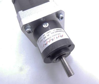 Nanotec ST4118L1804-KGRO2 Schrittmotor + Gysin GPL 032 1/4:1 Getriebe -used- – Bild 5