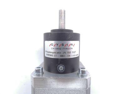 Nanotec ST4118L1804-KGRO2 Schrittmotor + Gysin GPL 032 1/4:1 Getriebe -used- – Bild 4