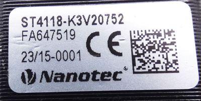 Nanotec ST4118-K3V20752 Schrittmotor + Nanotec GPLL40-49 Getriebe -used- – Bild 2