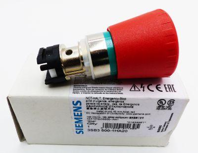 Siemens 3SB3 500-1HA20 NOT-HALT Emergency Stop E-Stand:06 -unused/OVP- – Bild 1
