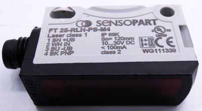 Sensopart FT 25-RLH-PS-M4 Reflexionslichttaster -used- – Bild 4