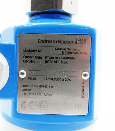 Endress+Hauser Liquiphant M FTL50-HGR2AA8G5A Nr. 943490-9000 -unused/OVP- – Bild 7