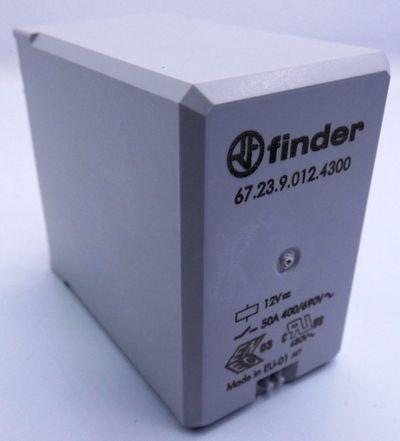 10x Finder 67.23.9.012.4300 672390124300 12VDC Printrelais -unused/OVP- – Bild 2