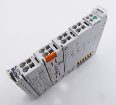 Beckhoff KL9100 KL 9100 24V DC max.10A Potentialeinspeiseklemme -used-  – Bild 1