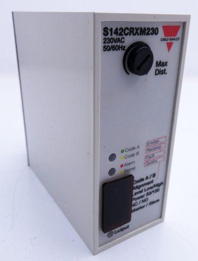 Carlo Gavazzi S142CRXM230 S 142 CRXM 230 1 CH Photo Amplifier -unused- – Bild 2