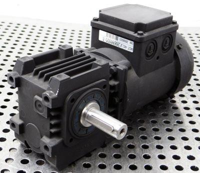 Bauer BS04-71V/D04LA4/MG 110432 220V/50Hz rpm1350/4 0,06kW I=338,3 -unused- – Bild 1