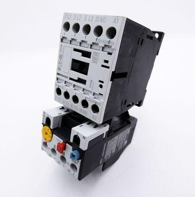 Eaton Moeller DILM9-10 XTCE009B10 220V Schutz + ZB12-4  Motorschutzrelais -used- – Bild 1