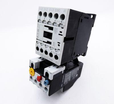 Eaton Moeller DILM9-10 XTCE009B10 220V Schutz + ZB12-10 Motorschutzrelais -used- – Bild 1