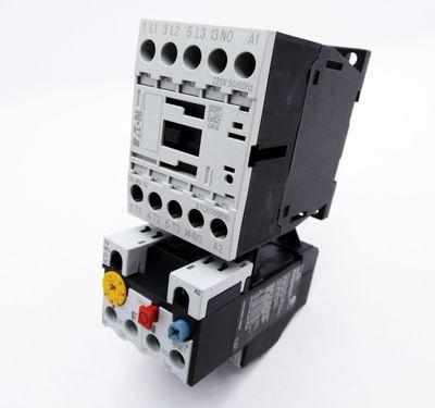 Eaton Moeller DILM9-10 XTCE009B10 220V Schutz + ZB12-1,6 Motorschutzrelais -used – Bild 1