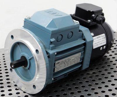 ABB M2AA 071B-4 3GAA072002-BSE 230V rpm1355 0,37kW + KS071MCM55ABB1 -unused- – Bild 1
