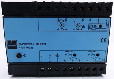 Endress+Hauser TMT 2023-D02 TMT2023D02 Range 0...+200 C 230V 50/60Hz -used- – Bild 2