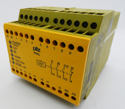 Pilz PNKL 24 VAC 24 VDC PNKL24VAC 24VDC  474120 Sicherheitsschaltgerät -used- – Bild 1
