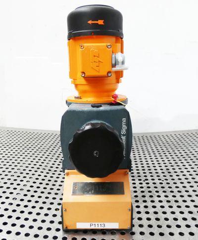 ProMinent Sigma S2BAHM04350PVT0070S000 230/400V 0,25kW 4bar Dosierpumpe -used- – Bild 6