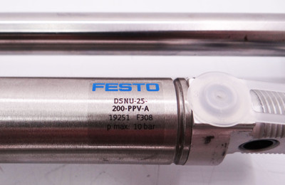ASS HEU 25-200 1-752-24-00 + Festo DSNU-25-200-PPV-A Hubeinheit -unused- – Bild 4