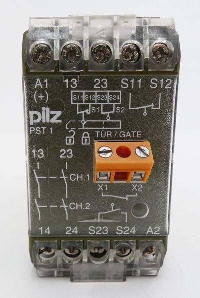 Pilz PST 1 PST1 24VDC 420080 Sicherheitsrelais -used- – Bild 2