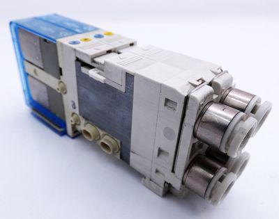 2x SMC SJ3360-6CU-C6 SJ33606CUC6 Magnetventil -used- – Bild 1