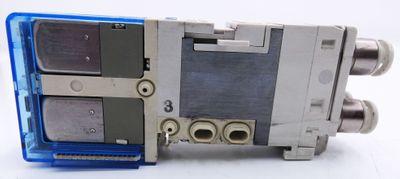 2x SMC SJ3360-6CU-C6 SJ33606CUC6 Magnetventil -used- – Bild 4