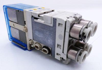 2x SMC SJ3260-6CU-C6 SJ32606CUC6 Magnetventil -used- – Bild 1