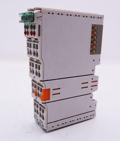2x WAGO 750-486 7504 86 2x4 - 20mA Analog Input Module -used- – Bild 3
