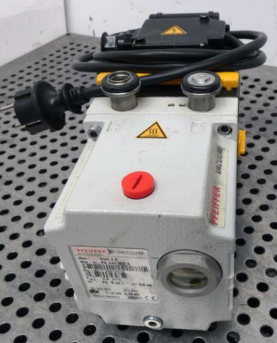 Pfeiffer DUO 2.5 PK D41 602 A  DUO25PKD41602A Vacuumpumpe  220V  0,13 KW  -used- – Bild 4