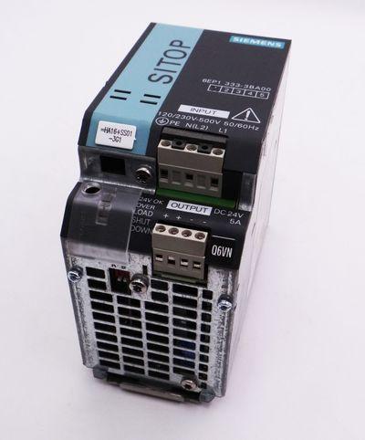 Siemens SITOP 6EP1 333-3BA00 E: 01 Power Supply  -used- – Bild 1