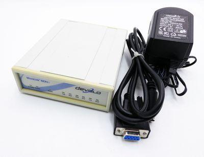 Devolo MicroLink ISDN i V.24/RS232C DC 9-42V + Netzteil + Kabel -used- – Bild 1