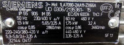 KSB ETABLOC SY 032-125.1/152 SY8  SY0321251152SY8 Kreiselpumpe 10m³/h  -unused- – Bild 3