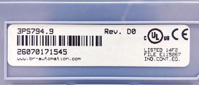 B&R Automation 3PS 794.9 3PS794.9 230V AC 45W Netzteil -unused- – Bild 2