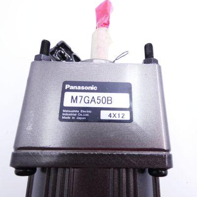 Panasonic M71A15G4GE Motor + M7GA50B Getriebe -used- – Bild 4
