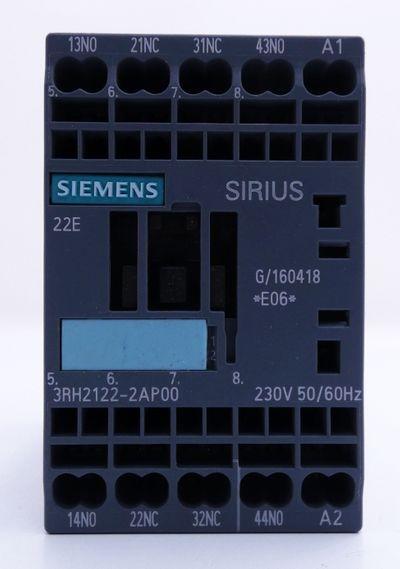 3x Siemens 3RH2122-2AP00 3RH2 122-2AP00 E-Stand: 06 -used- – Bild 2