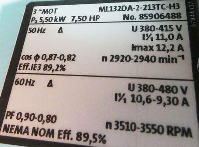Grundfos CR5-20 E-FGJ-A-E-HQQE  CR520EFGJAEHQQE Kreiselpumpen 5,5KW -unused/OVP- – Bild 3
