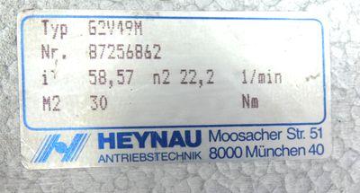 Bauknecht RF0,09/4-71 Motor 7402419/F02 + Heynau G2V49M Getriebe 87256862 -used- – Bild 6
