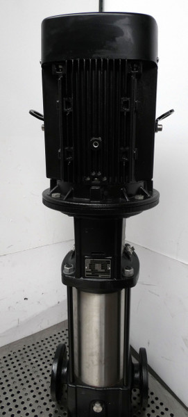 Grundfos CR10-10-E-FJ-A-E-HQQE CR1010EFJAEHQQE Kreiselpumpe 7,5 KW 7,51m³/h-used – Bild 5