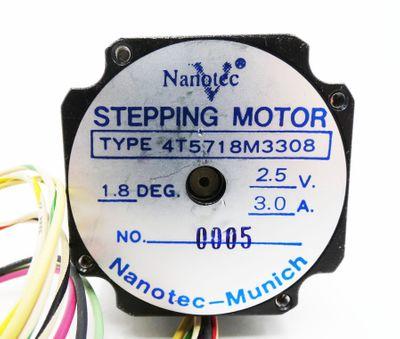 Nanotec  4T5718M3308  4T 5718 M3308 2.5V 3.0A Schrittmotor -used- – Bild 3