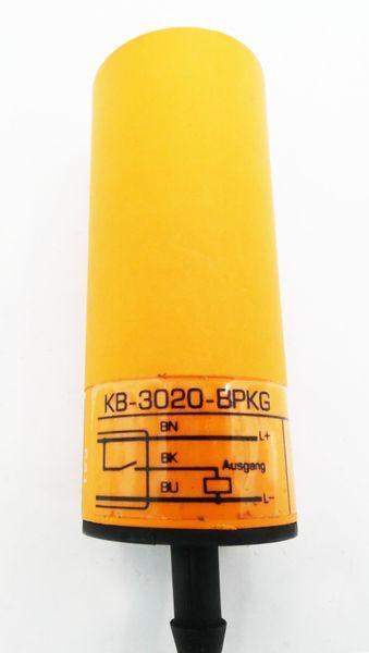 ifm electronic KB-3020-BPKG Kapazitiver Sensor 10-55VDC 250mA -used- – Bild 2