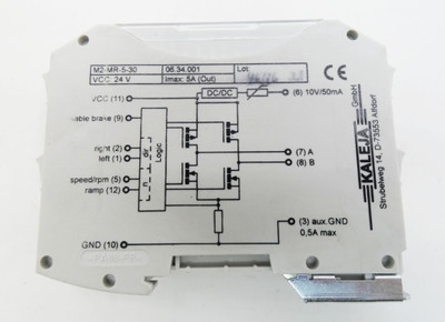 Kaleja  M2-MR-5-30  06.34.001 Motorsteuerung  -used-  – Bild 3