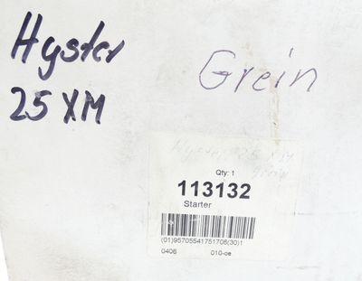 Hyster 113132 Anlasser/Starter für Gabelstabler 12V 2,2KW -unused/OVP- – Bild 6