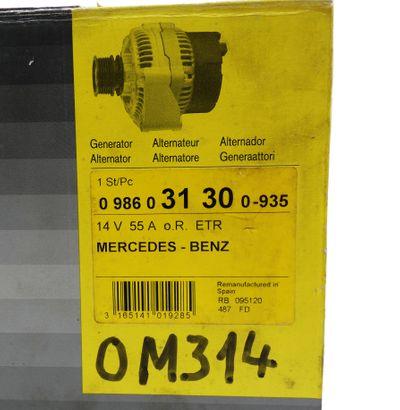 Bosch 0 986 031 300 0986031300 14V/55A Lichtmaschine Generator/Alternator -used- – Bild 2