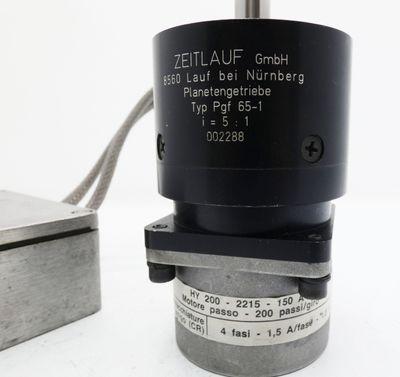 Bautz HY200-2215-150A8 Schrittmotor + Pgf 65-1 Getriebe + Weidmüller K2  -used- – Bild 4