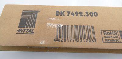 Rittal DK 7492.500 DK7492.500 DK7492500 Gleitschienenmontagesatz -unused/OVP- – Bild 2