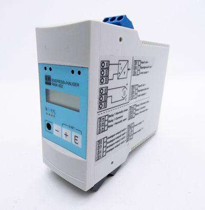 Endress+Hauser RMA 422 RMA422 RMA422-B22A32A 24V Prozessmessumformer -used- – Bild 1