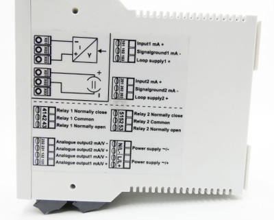 Endress+Hauser RMA 422 RMA422 RMA422-B22A32A 24V Prozessmessumformer -used- – Bild 4