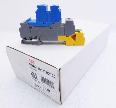 10x ABB/Entrelec 1SNA110327R2100 Installationsetagenklemme 17,8 mm -unused/OVP- – Bild 1