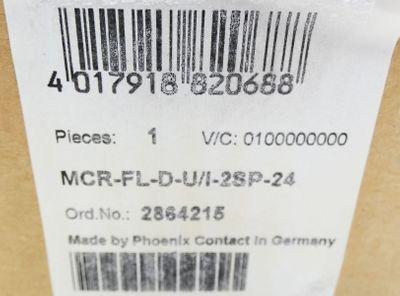 Phoenix Contact MCR-FL-D-U/I-2SP-24 MCRFLDU/I2SP24  Dig. Messgerät -unused/OVP- – Bild 3