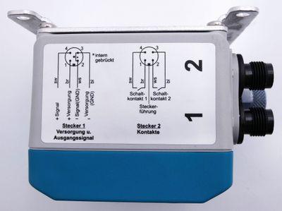 Fischer DE45N30040CK03MW 0-2,5kPa Digitaler Differenzdruckschalter -unused- – Bild 5
