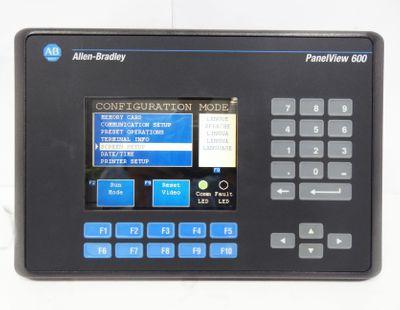 Allen Bradley PanelView 600 2711-K6C8 2711K6C8 Ser. B Rev. H 100-240VAC -used- – Bild 1