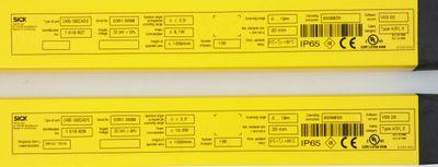 Sick C40S-13002CA010 1018627 Sender+C40E-1302CA010 1018628 Empfänger -unused/OVP – Bild 6